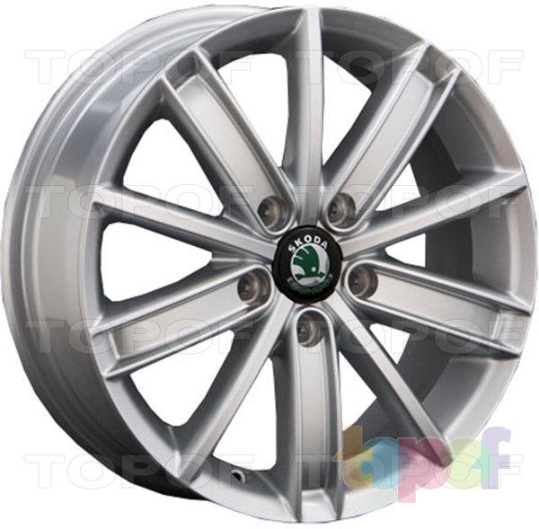 Колесные диски Replica LegeArtis SK15. Изображение модели #1
