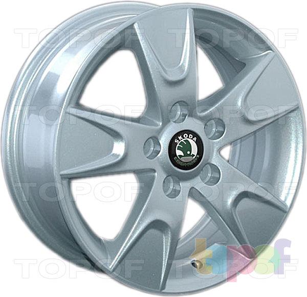 Колесные диски Replica LegeArtis SK18. Изображение модели #1