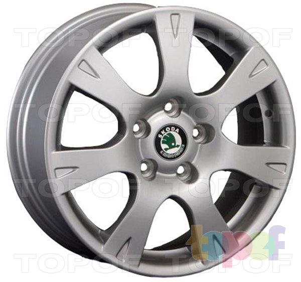 Колесные диски Replica LegeArtis SK21. Изображение модели #1