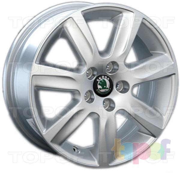 Колесные диски Replica LegeArtis SK24. Изображение модели #1