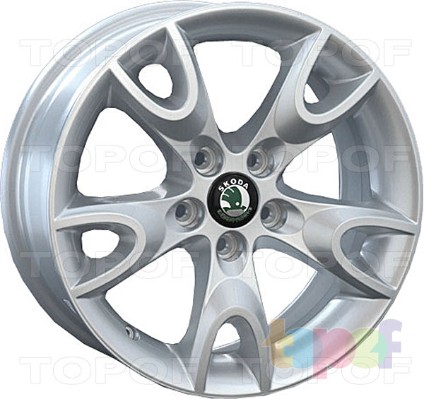 Колесные диски Replica LegeArtis SK27. Изображение модели #1