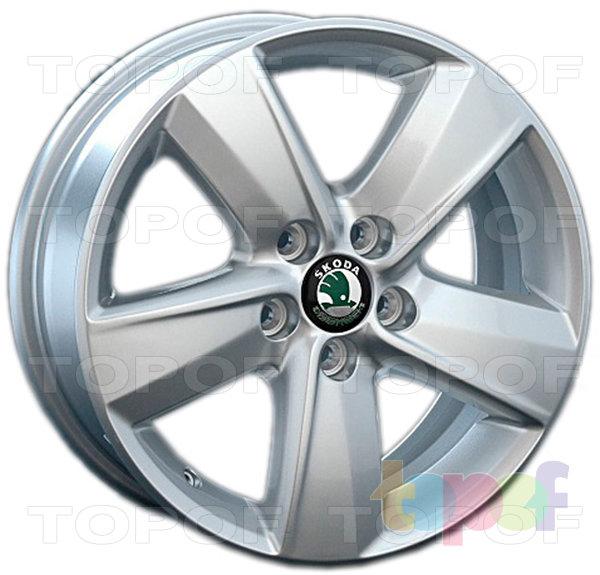 Колесные диски Replica LegeArtis SK40. Изображение модели #1