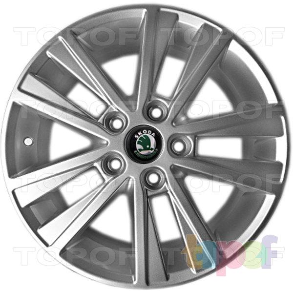 Колесные диски Replica LegeArtis SK44. Изображение модели #1