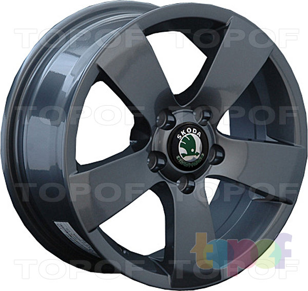 Колесные диски Replica LegeArtis SK6. Изображение модели #1