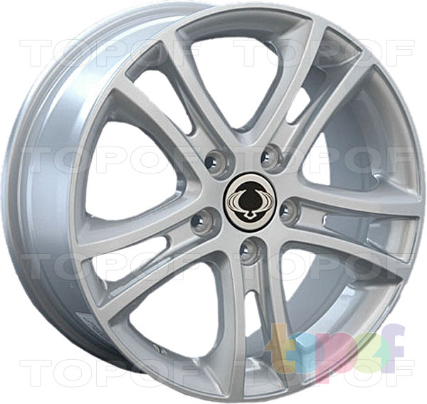 Колесные диски Replica LegeArtis SNG16. Изображение модели #1