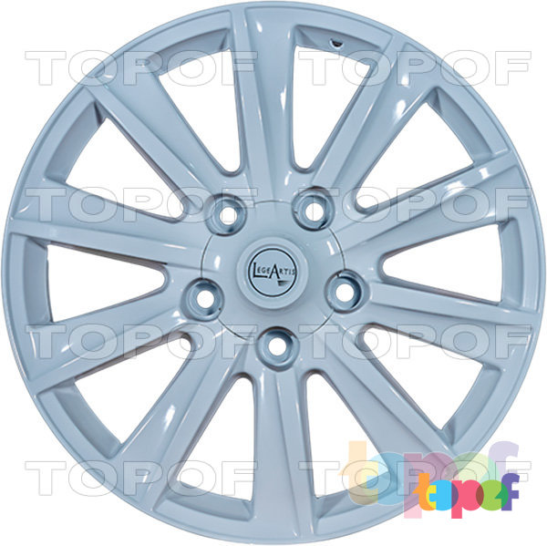 Колесные диски Replica LegeArtis TY43. Изображение модели #3
