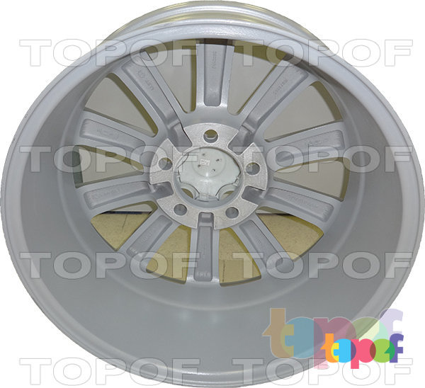 Колесные диски Replica LegeArtis TY43. Цвет серебряный