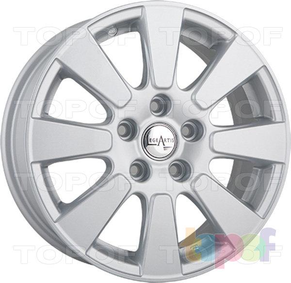 Колесные диски Replica LegeArtis TY45. Изображение модели #1