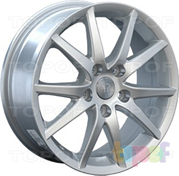 Колесные диски Replica LegeArtis TY49. Изображение модели #2