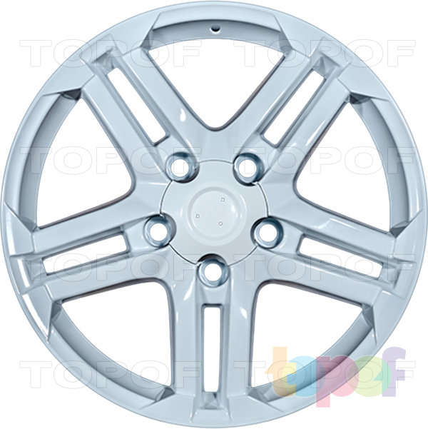 Колесные диски Replica LegeArtis TY54. Изображение модели #4