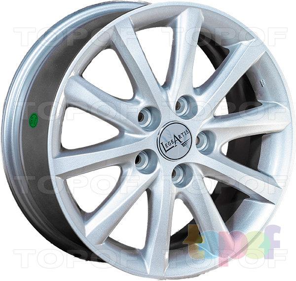 Колесные диски Replica LegeArtis TY58. Изображение модели #2