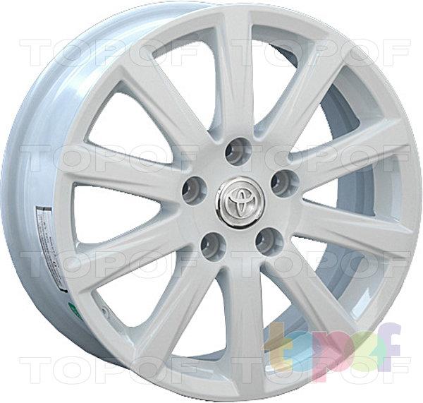 Колесные диски Replica LegeArtis TY62. Изображение модели #2