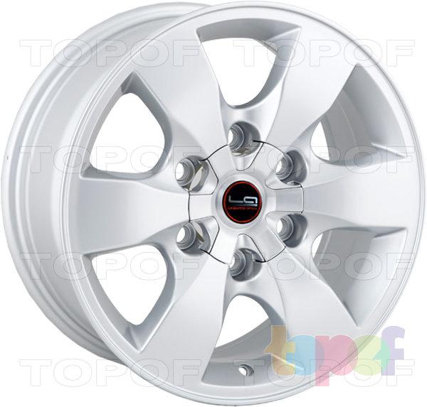 Колесные диски Replica LegeArtis TY63. Изображение модели #4