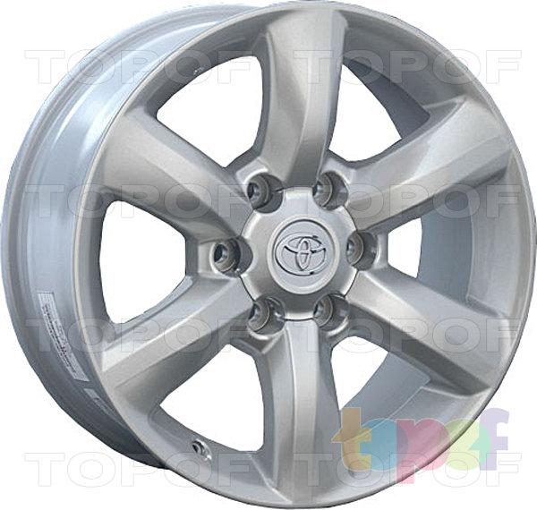 Колесные диски Replica LegeArtis TY64. Изображение модели #3