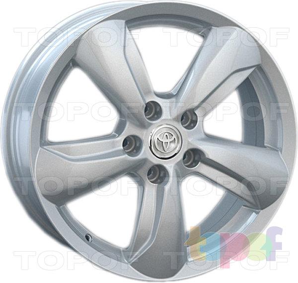 Колесные диски Replica LegeArtis TY65. Изображение модели #2
