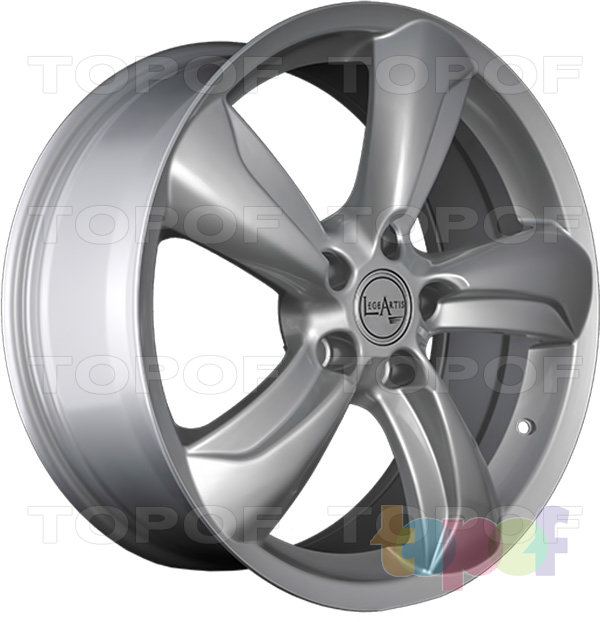 Колесные диски Replica LegeArtis TY65. Изображение модели #4