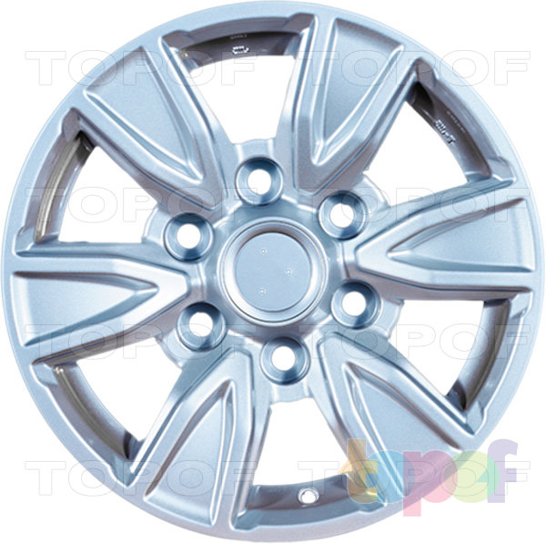 Колесные диски Replica LegeArtis TY97. Изображение модели #1