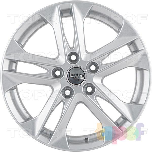 Колесные диски Replica LegeArtis VW102. Изображение модели #1