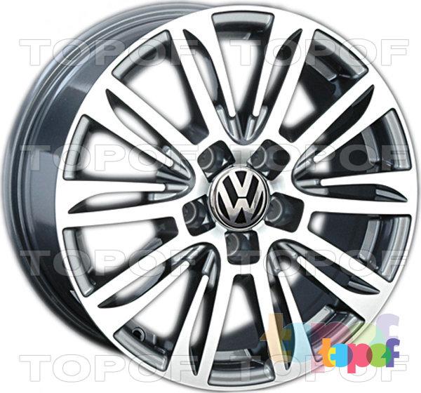 Колесные диски Replica LegeArtis VW109. Изображение модели #1