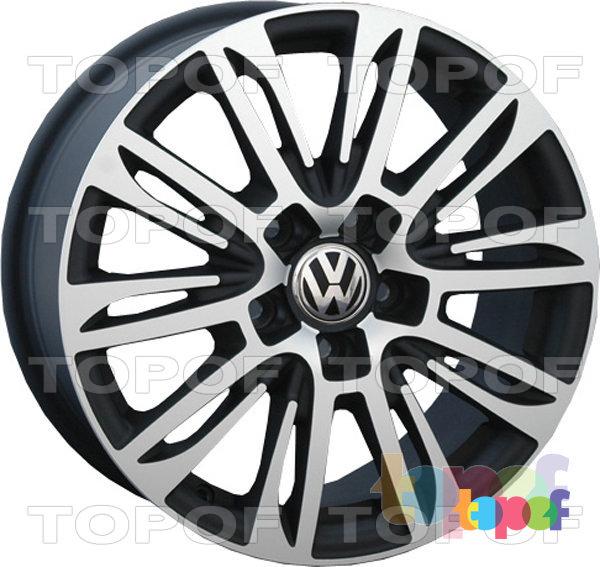 Колесные диски Replica LegeArtis VW109. Изображение модели #2