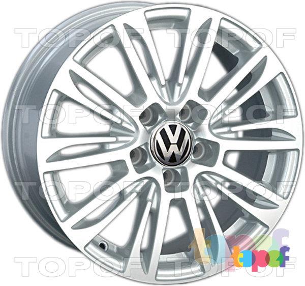 Колесные диски Replica LegeArtis VW109. Изображение модели #3