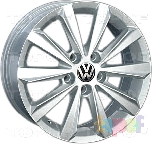 Колесные диски Replica LegeArtis VW117. Изображение модели #1