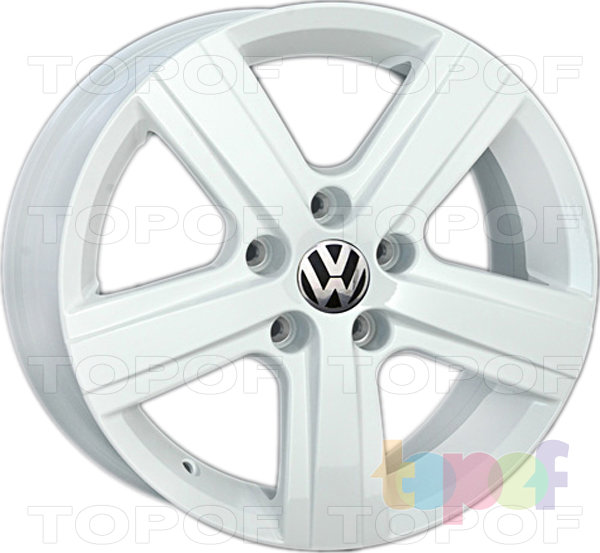 Колесные диски Replica LegeArtis VW119. Изображение модели #4