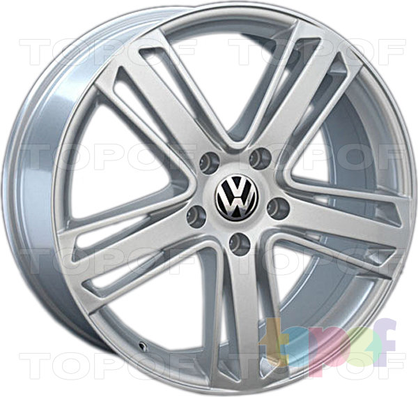 Колесные диски Replica LegeArtis VW127. Цвет колесного диска - Silver (Серебряный)