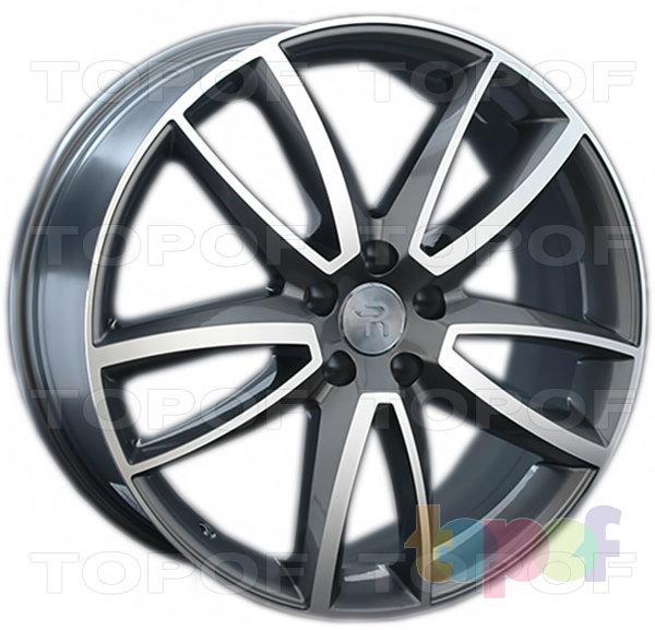 Колесные диски Replica LegeArtis VW153. Цвет колесного диска - GMF (Темно-серебристый полированный)