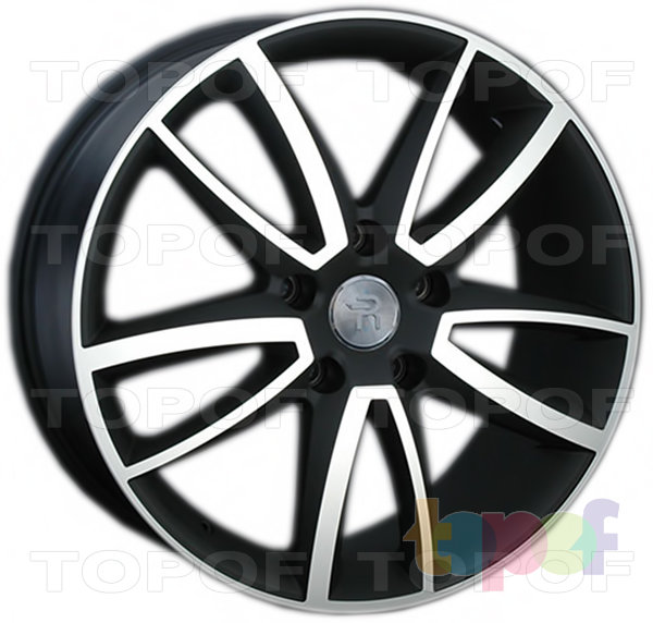 Колесные диски Replica LegeArtis VW153. Цвет колесного диска - MBF (Черный с дымкой полированный)