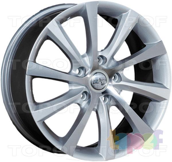 Колесные диски Replica LegeArtis VW17. Изображение модели #2