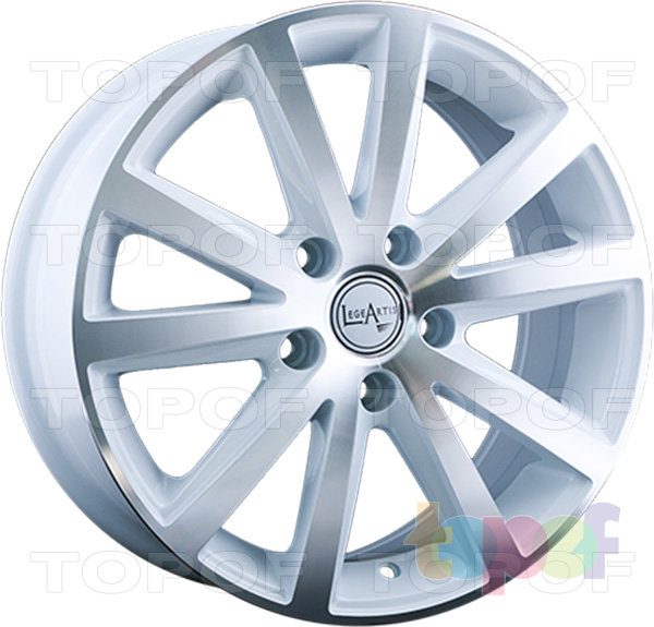 Колесные диски Replica LegeArtis VW19. Изображение модели #6