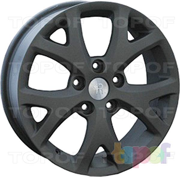Колесные диски Replay (Replica LS) MZ17. Цвет матовый черный