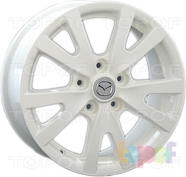 Колесные диски Replay (Replica LS) MZ26. Цвет белый