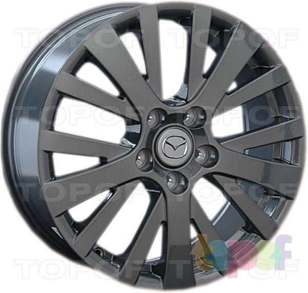 Колесные диски Replay (Replica LS) MZ27. Цвет темно-серый