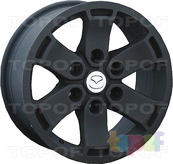 Колесные диски Replay (Replica LS) MZ31. Цвет матовый черный
