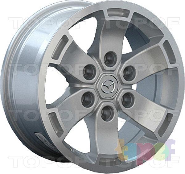 Колесные диски Replay (Replica LS) MZ31. Цвет серебристый