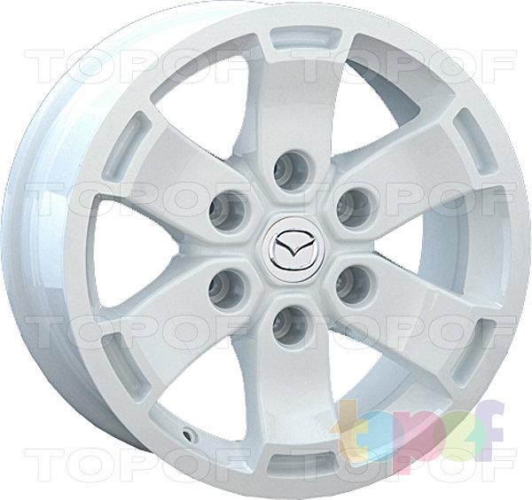 Колесные диски Replay (Replica LS) MZ31. Цвет белый