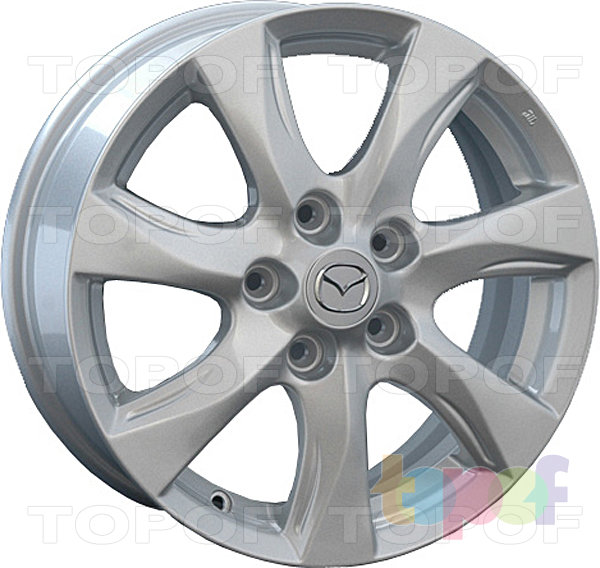 Колесные диски Replay (Replica LS) MZ34. Цвет серебряный