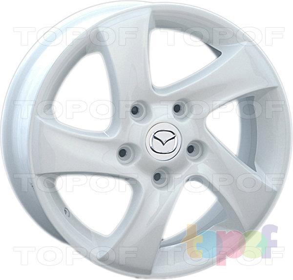 Колесные диски Replay (Replica LS) MZ9. Цвет белый