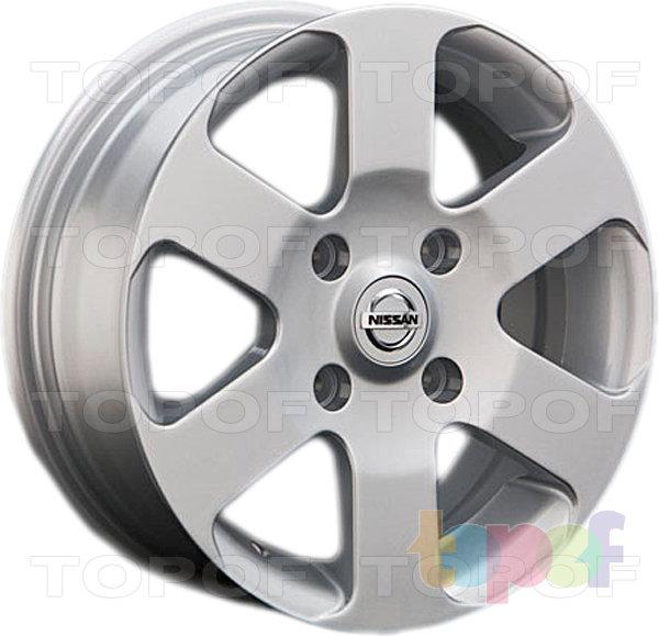 Колесные диски Replay (Replica LS) NS46. Изображение модели #1