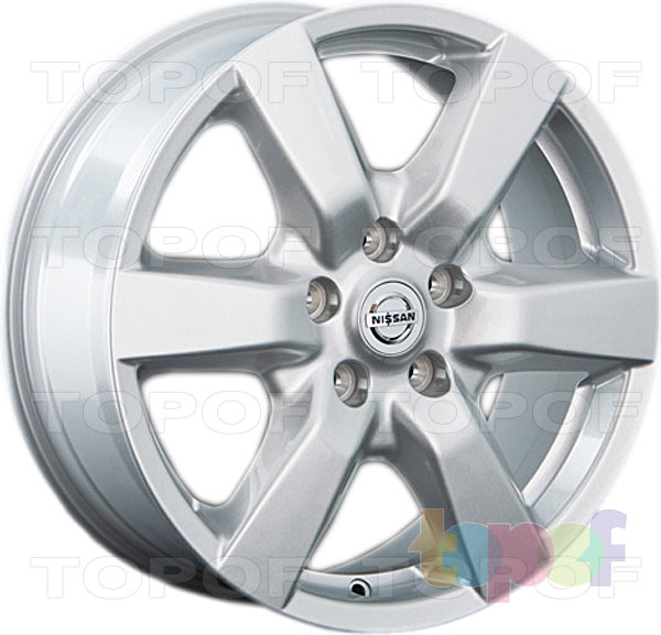 Колесные диски Replay (Replica LS) NS49. Цвет серебряный