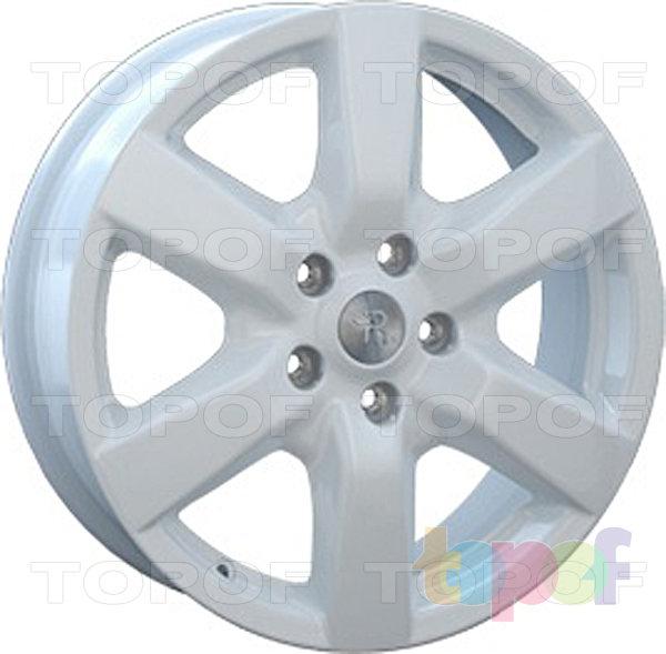 Колесные диски Replay (Replica LS) NS49. Цвет белый