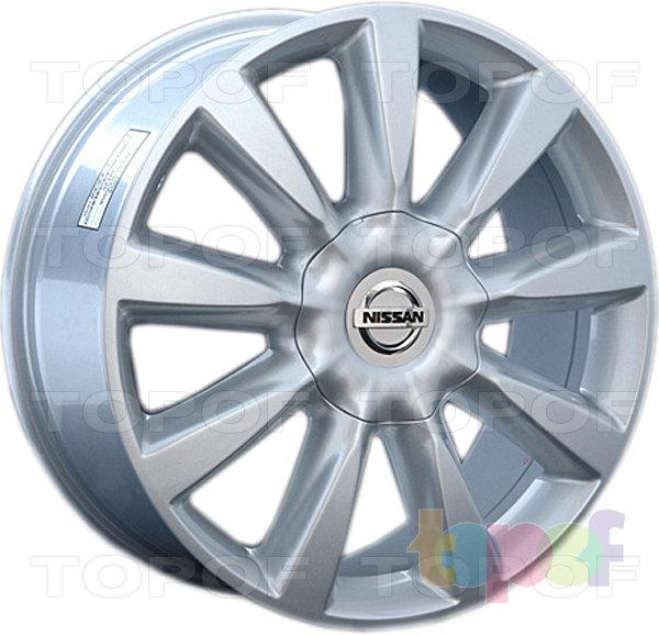 Колесные диски Replay (Replica LS) NS57. Цвет серебряный