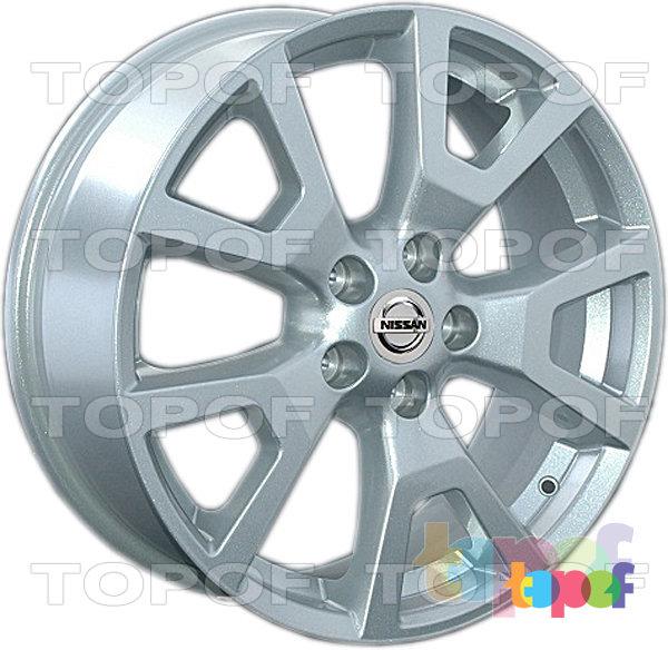Колесные диски Replay (Replica LS) NS85. Цвет серебряный