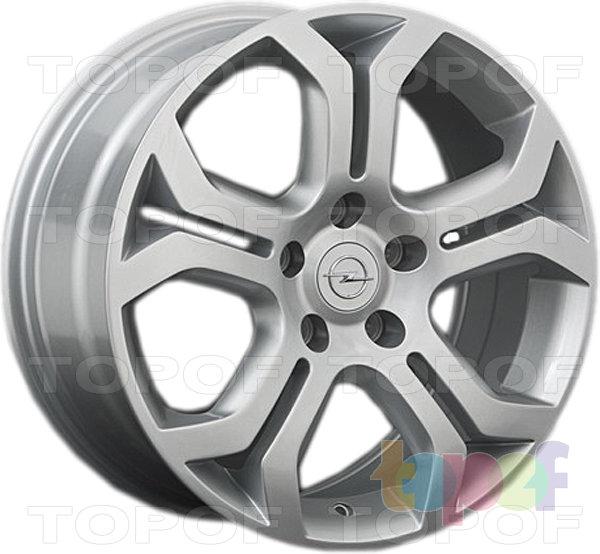 Колесные диски Replay (Replica LS) OPL5. Цвет серебряный