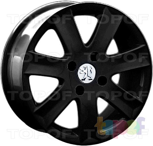 Колесные диски Replay (Replica LS) PG10. Цвет матовый черный