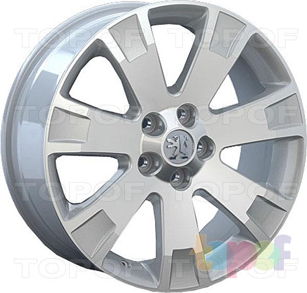 Колесные диски Replay (Replica LS) PG15. Цвет серебряный полированный