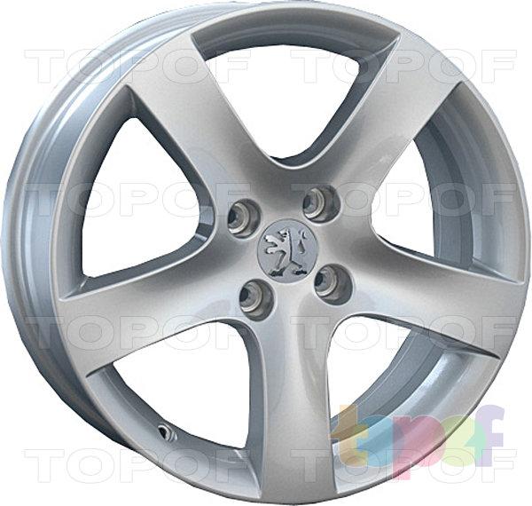 Колесные диски Replay (Replica LS) PG17. Цвет серебряный