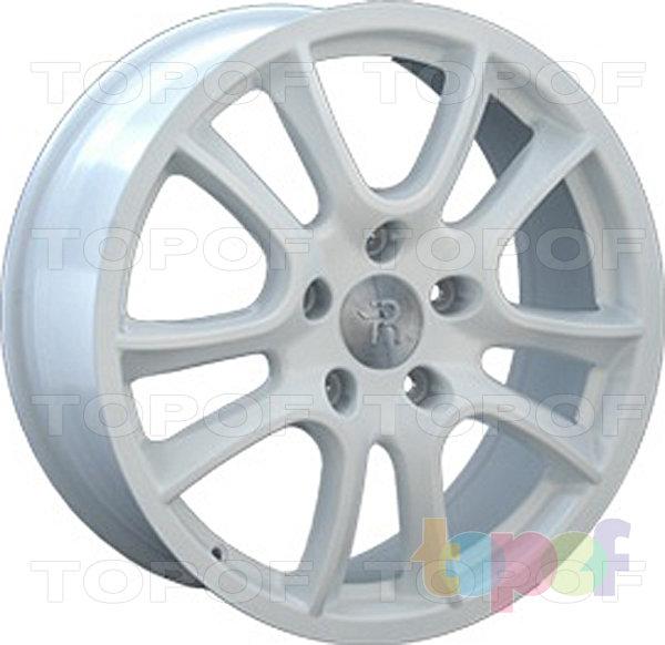 Колесные диски Replay (Replica LS) PR6. Цвет белый